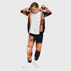 Костюм мужской Идеальное тело цвета 3D-черный — фото 2