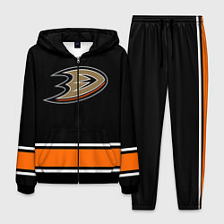 Костюм мужской Anaheim Ducks Selanne цвета 3D-черный — фото 1