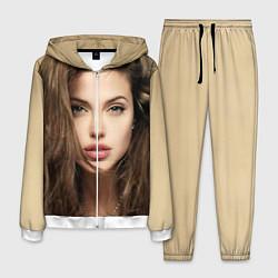 Костюм мужской Анжелина Джоли цвета 3D-белый — фото 1