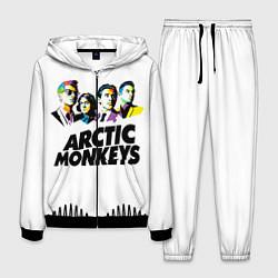 Костюм мужской Arctic Monkeys: Music Wave цвета 3D-черный — фото 1
