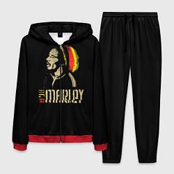 Костюм мужской Bob Marley цвета 3D-красный — фото 1