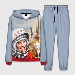 Костюм мужской Гагарин взлетает цвета 3D-красный — фото 1