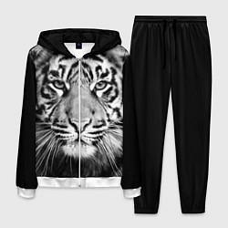 Костюм мужской Красавец тигр цвета 3D-белый — фото 1