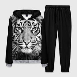 Костюм мужской Красавец тигр цвета 3D-меланж — фото 1