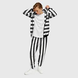 Костюм мужской Заключенный цвета 3D-черный — фото 2