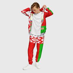 Костюм мужской Belarus Patriot цвета 3D-меланж — фото 2
