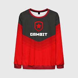 Свитшот мужской Gambit Gaming Uniform цвета 3D-красный — фото 1