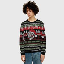 Свитшот мужской Freddy Christmas цвета 3D-черный — фото 2