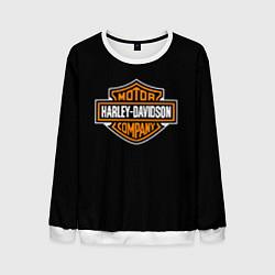 Свитшот мужской Harley-Davidson: Motor Company цвета 3D-белый — фото 1