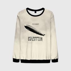 Свитшот мужской Led Zeppelin: Fly цвета 3D-черный — фото 1