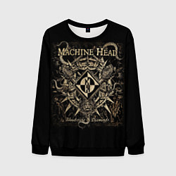 Свитшот мужской Machine Head цвета 3D-черный — фото 1
