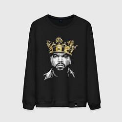 Свитшот хлопковый мужской Ice Cube King цвета черный — фото 1