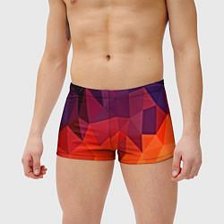 Мужские плавки Geometric цвета 3D — фото 2