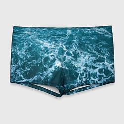 Мужские плавки Водная гладь цвета 3D — фото 1