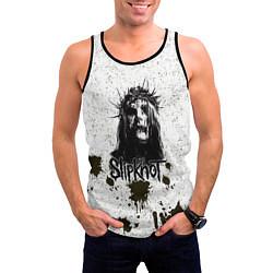 Майка-безрукавка мужская Slipknot Demon цвета 3D-черный — фото 2