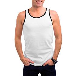 Майка-безрукавка мужская Rammstein цвета 3D-черный — фото 2