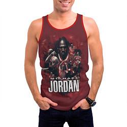 Майка-безрукавка мужская MICHAEL JORDAN цвета 3D-красный — фото 2