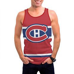 Майка-безрукавка мужская Montreal Canadiens цвета 3D-красный — фото 2