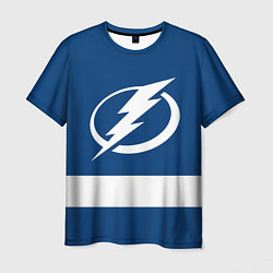 Футболка мужская Tampa Bay Lightning цвета 3D — фото 1