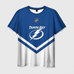 Футболка мужская NHL: Tampa Bay Lightning цвета 3D — фото 1