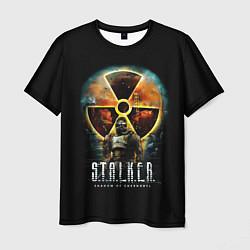 Мужская 3D-футболка с принтом STALKER: Shadow of Chernobyl, цвет: 3D, артикул: 10113004403301 — фото 1