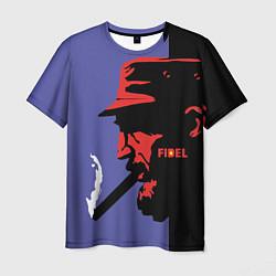 Футболка мужская Fidel цвета 3D — фото 1