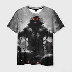 Футболка мужская Disturbed: Demon Rage цвета 3D-принт — фото 1