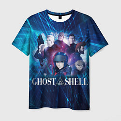 Футболка мужская Ghost In The Shell 10 цвета 3D — фото 1