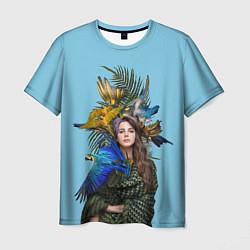Футболка мужская Lana Del Rey: Tropical цвета 3D-принт — фото 1
