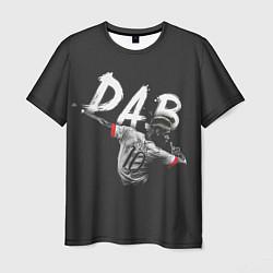 Футболка мужская Paul Pogba: Dab цвета 3D-принт — фото 1