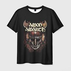 Футболка мужская Amon Amarth: Death Viking цвета 3D-принт — фото 1