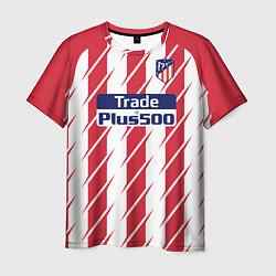 Футболка мужская Atletico Madrid FC: Grizman Home 17/18 цвета 3D — фото 1