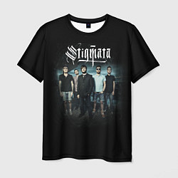 Мужская 3D-футболка с принтом Stigmata Band, цвет: 3D, артикул: 10141299103301 — фото 1