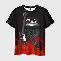 Футболка мужская Sum 41: Punk Rock цвета 3D — фото 1