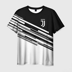 Мужская футболка FC Juventus: B&W Line