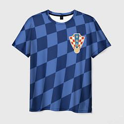 Футболка мужская Сборная Хорватии цвета 3D — фото 1