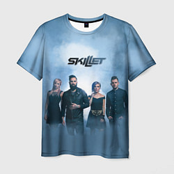 Футболка мужская Skillet: Smoke цвета 3D — фото 1