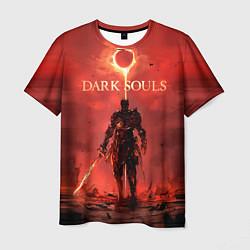 Футболка мужская Dark Souls: Red Sunrise цвета 3D — фото 1