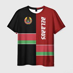 Футболка мужская Belarus Style цвета 3D-принт — фото 1