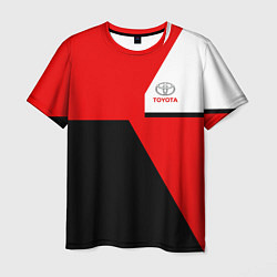 Мужская 3D-футболка с принтом Toyota Sport, цвет: 3D, артикул: 10148899903301 — фото 1