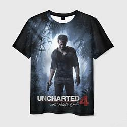 Футболка мужская Uncharted 4: A Thief's End цвета 3D — фото 1