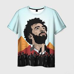 Мужская футболка Salah: Egypt King