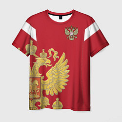 Футболка мужская Сборная России: эксклюзив цвета 3D — фото 1