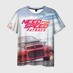 Футболка мужская Need for Speed: Payback цвета 3D-принт — фото 1