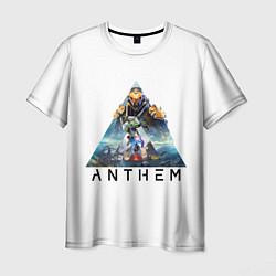 Мужская 3D-футболка с принтом ANTHEM Planet, цвет: 3D, артикул: 10155668703301 — фото 1