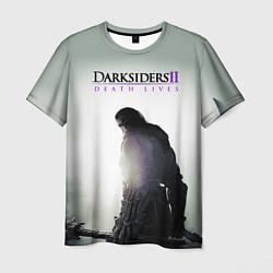 Футболка мужская Darksiders II: Death Lives цвета 3D — фото 1