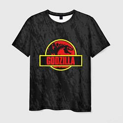 Футболка мужская Jurassic Godzilla цвета 3D — фото 1