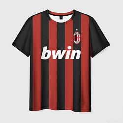 Футболка мужская AC Milan: Ronaldo Retro цвета 3D — фото 1