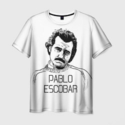 Футболка мужская Pablo Escobar цвета 3D — фото 1