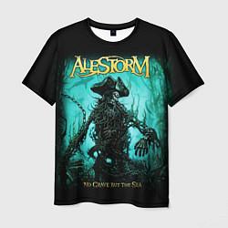 Футболка мужская Alestorm: Death Pirate цвета 3D — фото 1